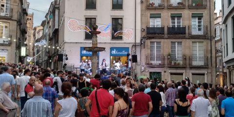 Concierto de Menage A Trois en las fiestas de Ourense