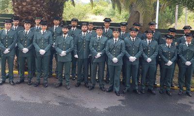 Guardias Civiles en prácticas en Ourense