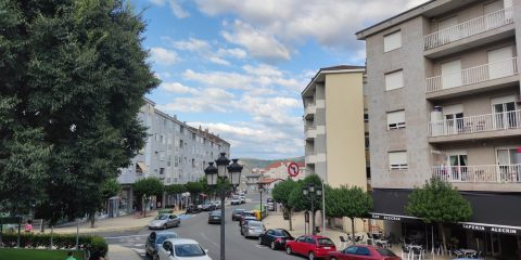 Avenida de Celanova en A Valenzá