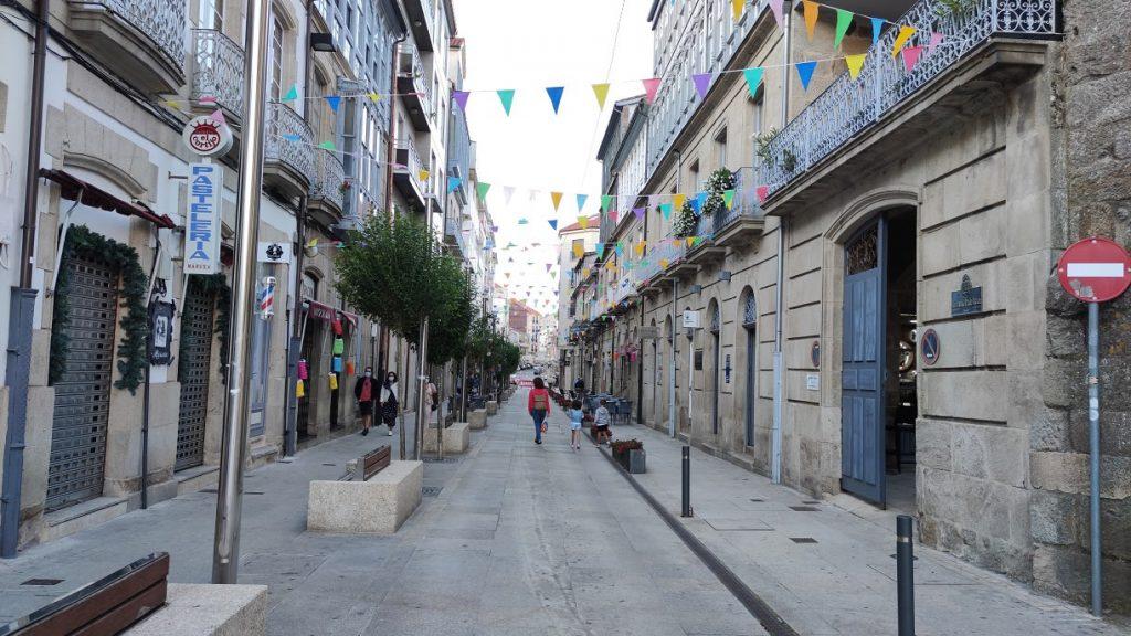 Calle Emilia Pardo Bazán de Celanova