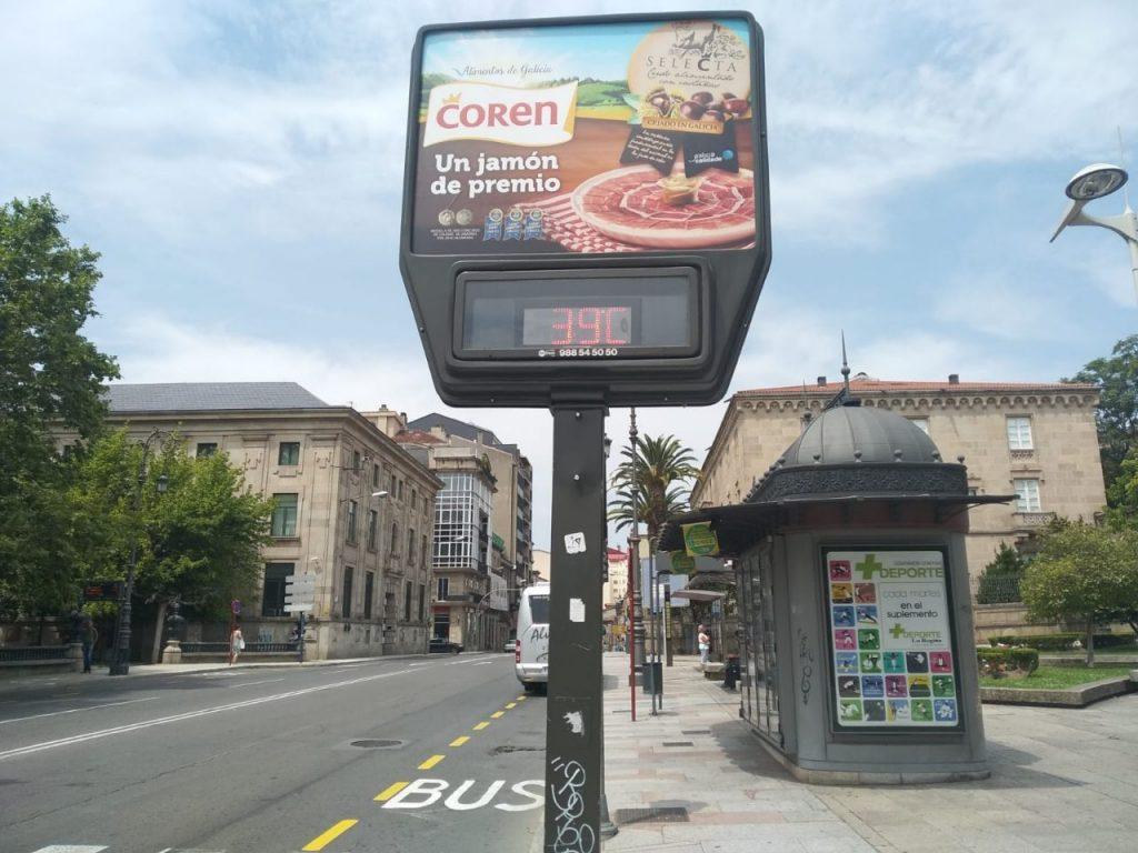 Calor en Ourense