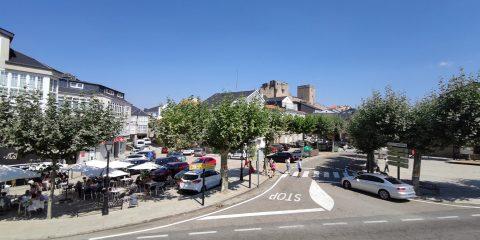 Plaza de Castro Caldelas
