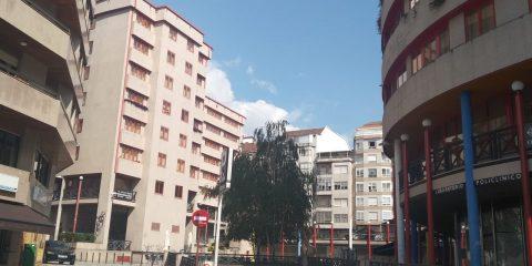 Plaza de San Antonio en Ourense