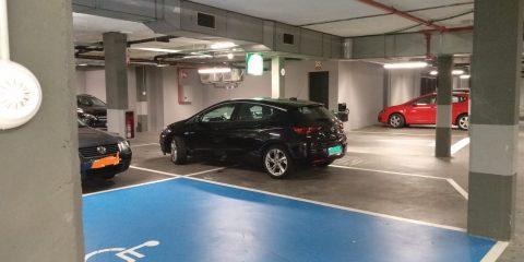 Mercadona parking