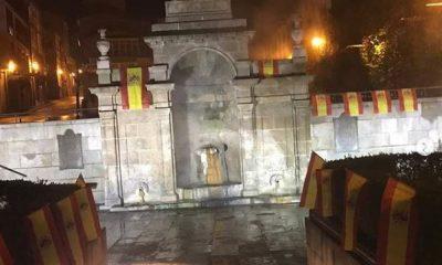Banderas de España en As Burgas