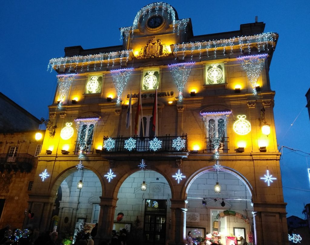 Luces de Navidad en Ourense