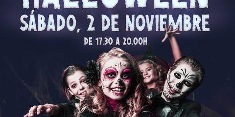 Taller de Halloween en Carrefour