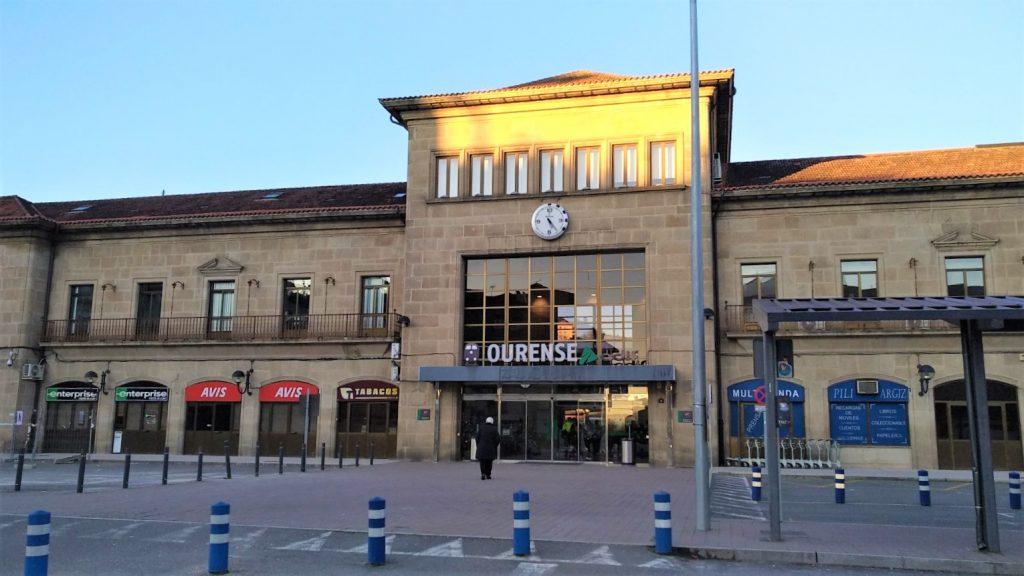 Estación de tren de Ourense
