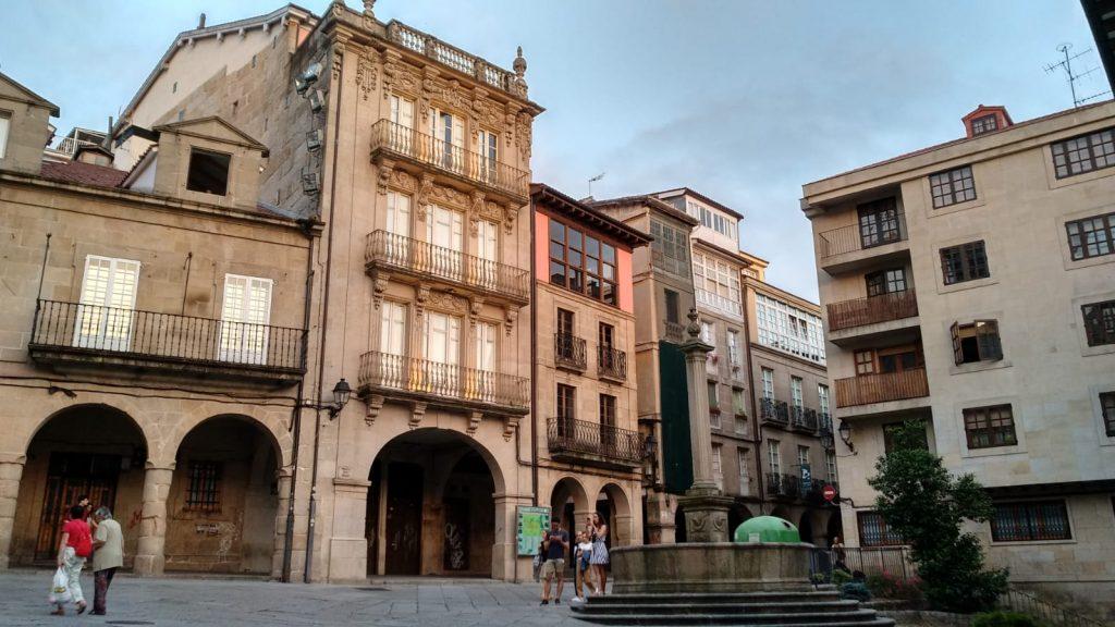 Plaza Do Trigo en Ourense