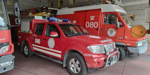 Bomberos del Concello de Ourense