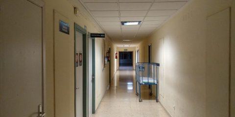 Pasillo hospital