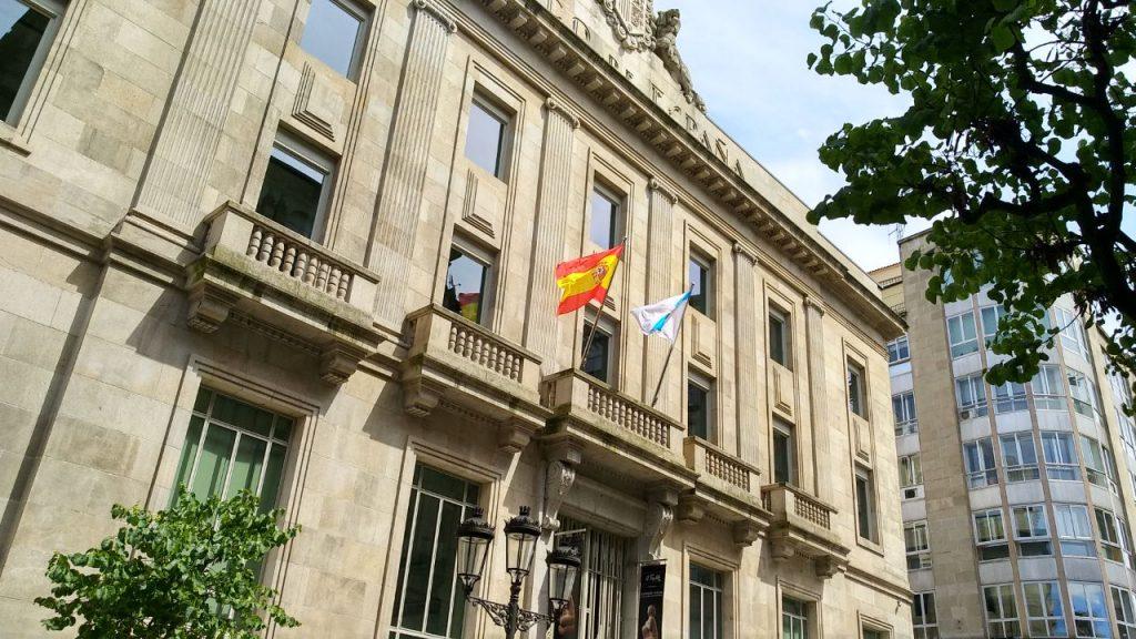 Edificio Banco de España en Paseo
