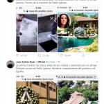 Tweet padre Diana Quer