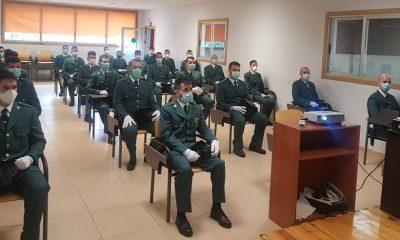 25 Guardias Civiles en prácticas