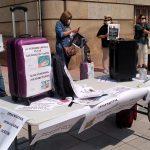 Agencias de viajes protestando
