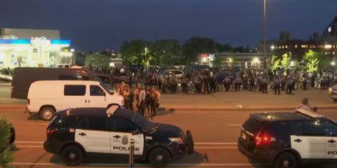 Disturbios en Estados Unidos