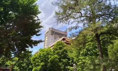 La Torre desde el parque de San Lázaro