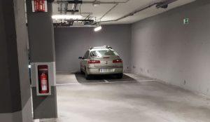 Mercadona mal aparcado