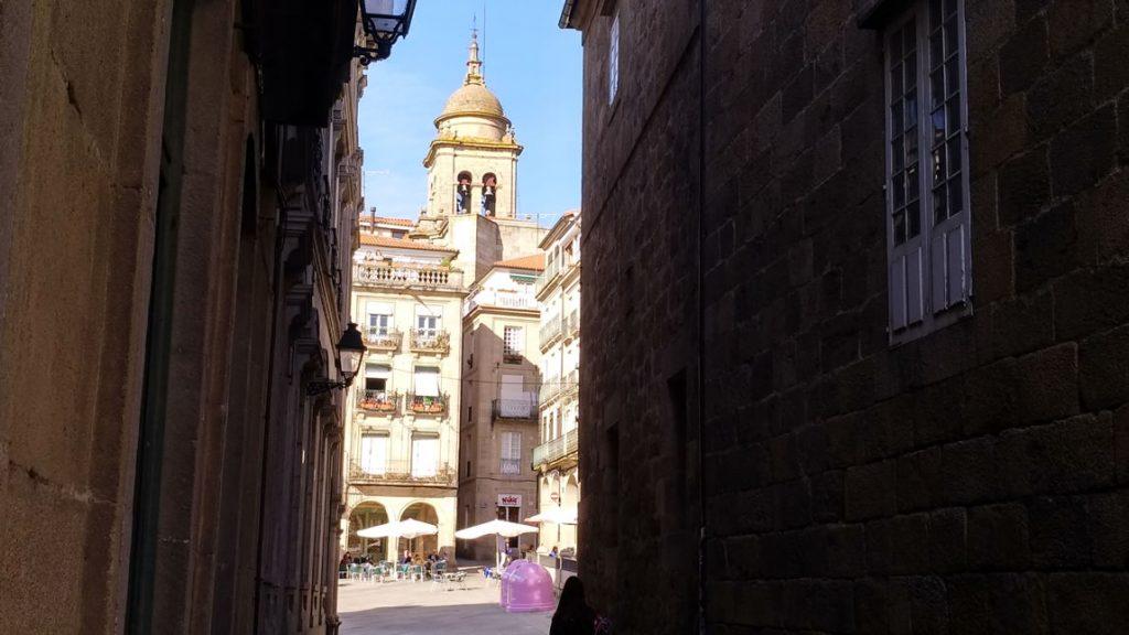Plaza Mayor y Catedral de Ourense