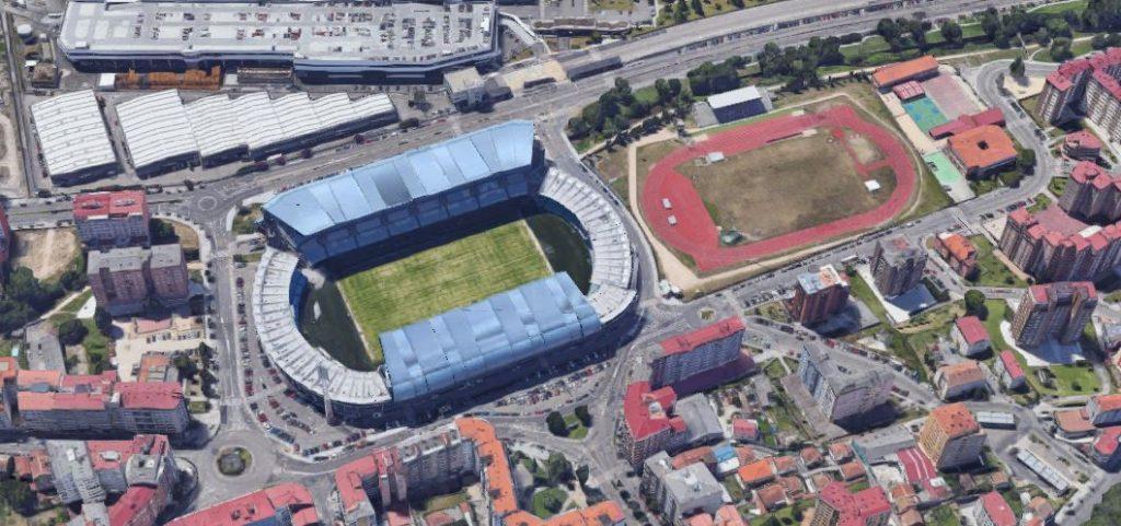 Balaídos Campo de fútbol del Celta