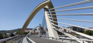 Cableado del Puente del Milenio