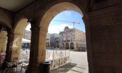 Concello de Ourense y Plaza Mayor