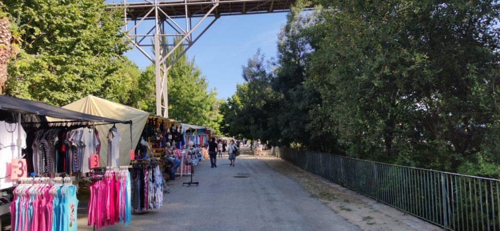 Feria de Ourense en el Parque Barbaña