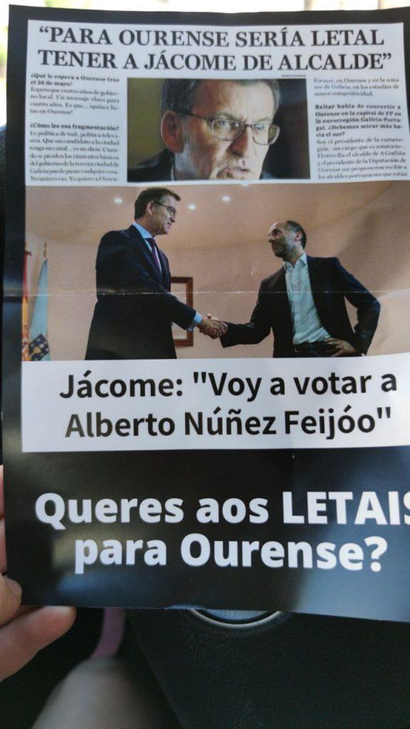 Folleto de Letais Para Ourense