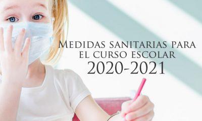 Medidas sanitarios curso escolar