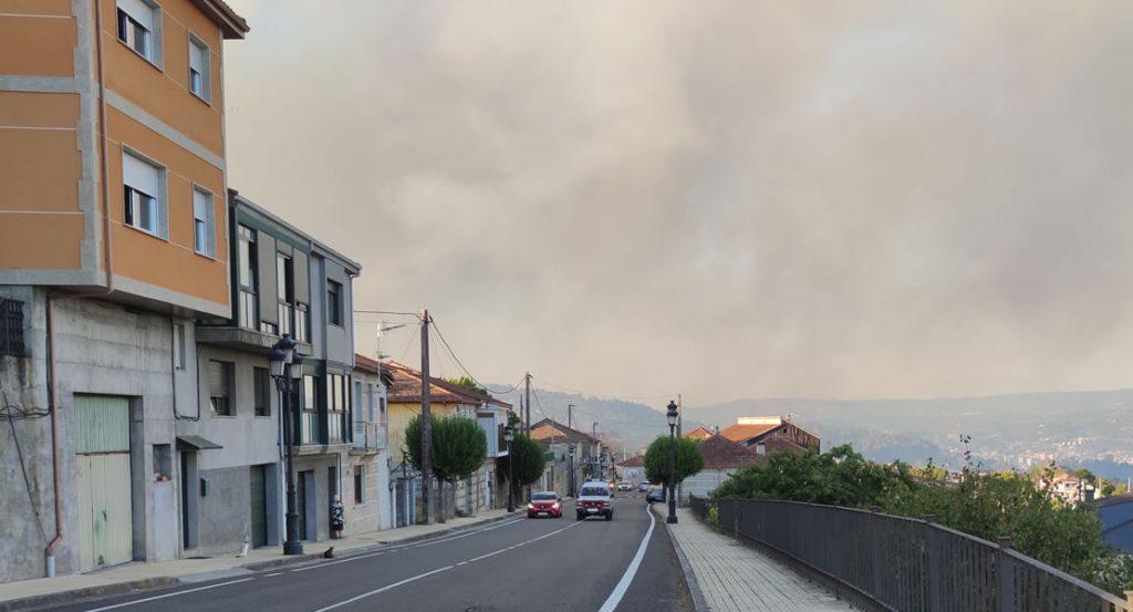 Moreiras y humo