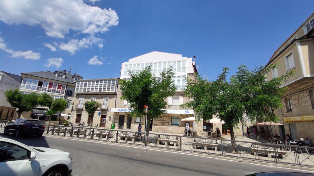 Plaza de A Pobra de Trives
