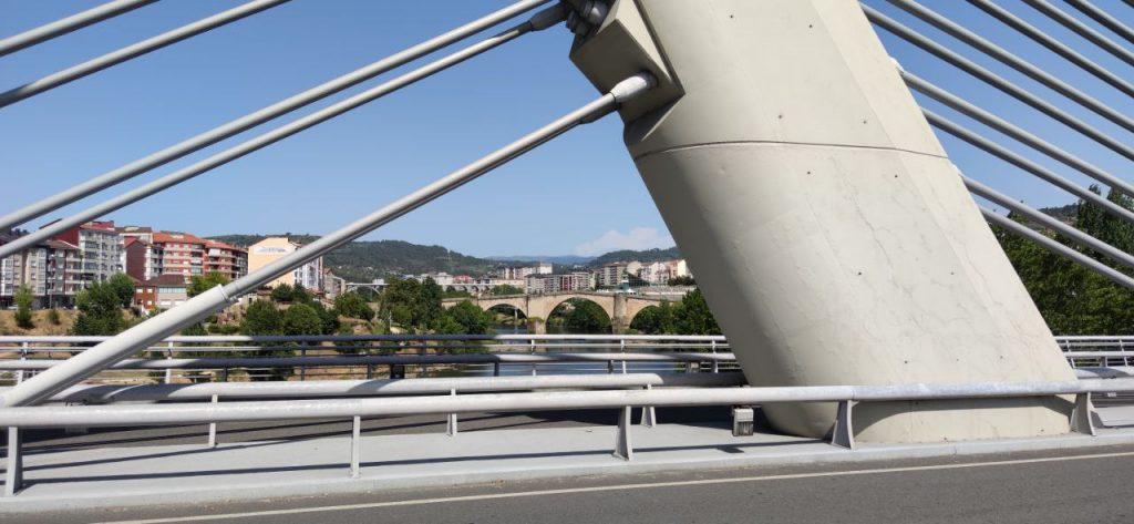 Puente Romano desde el Puente del Milenio