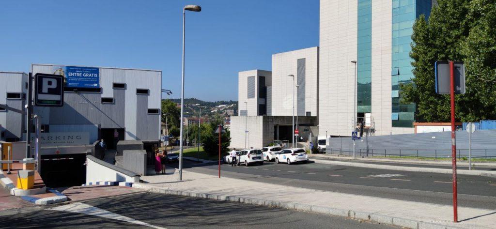Residencia CHUO y Parking