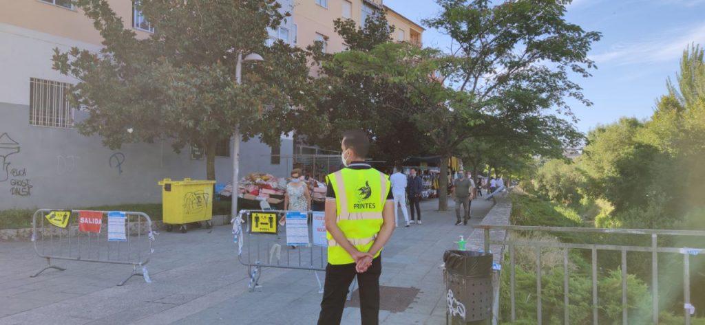Seguridad en la Feria de Ourense