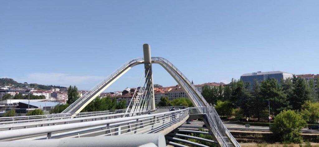 Vista del Puente del Milenio