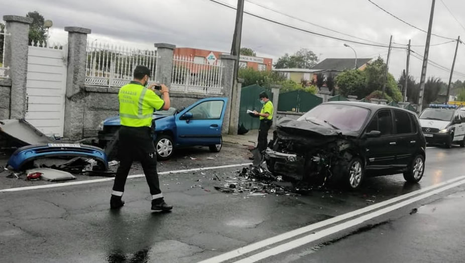Accidente en O Cumial