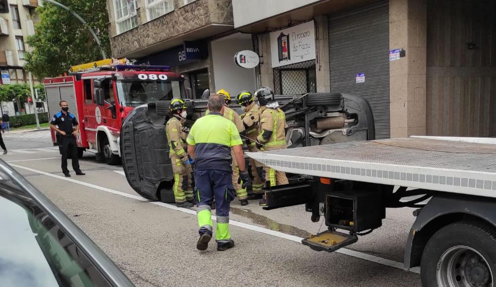 Accidente en la Avenida de Portugal
