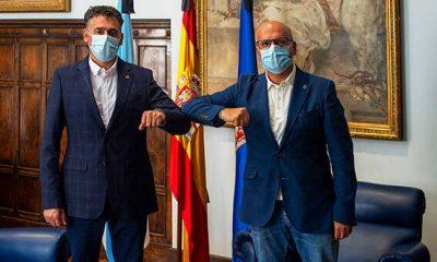 Avelino Pazos con Manuel Baltar