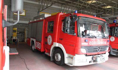 Camión de Bomberos de Ourense