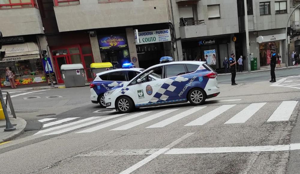 Coches de la Policía Local