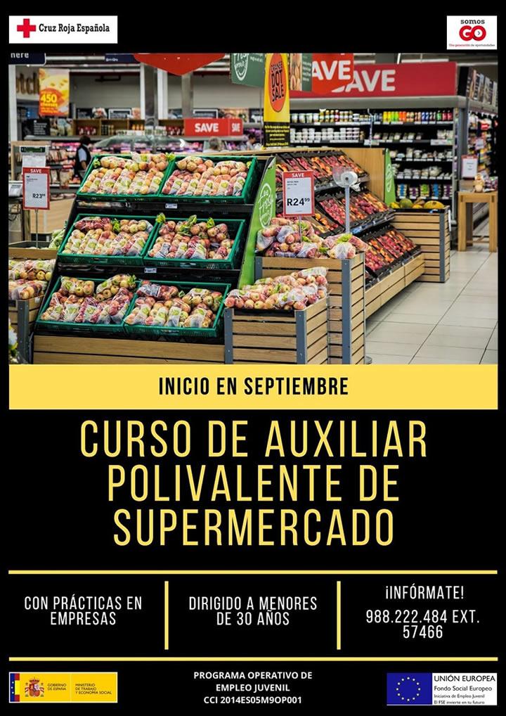 Curso de auxiliar polivalente de supermercado