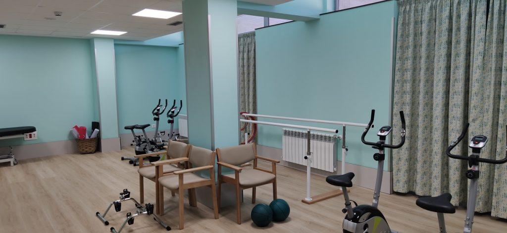 Zona de fisioterapia