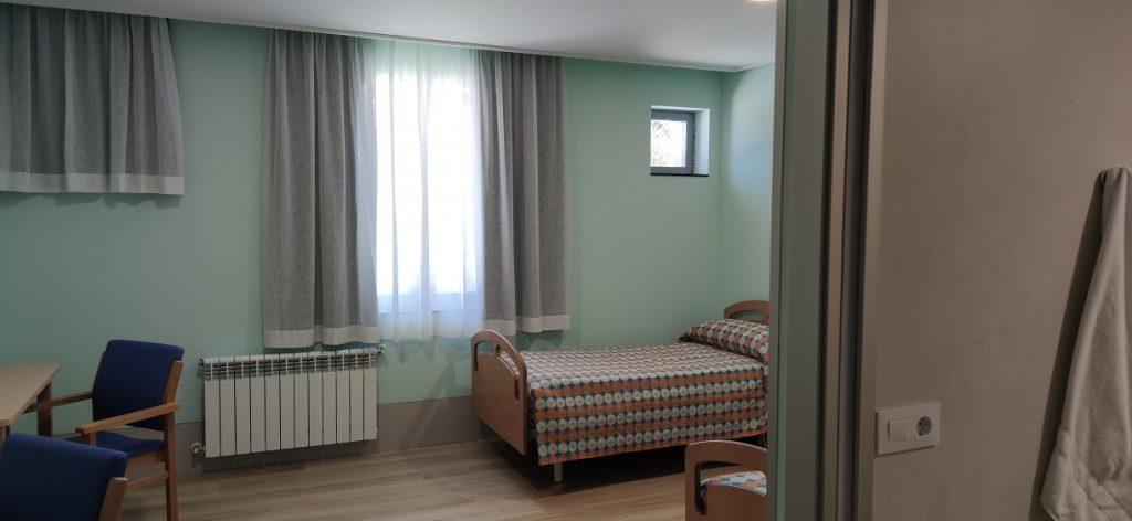 Habitación para los internos