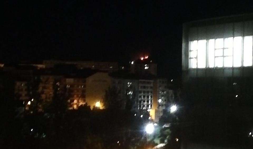 Incendio en Velle