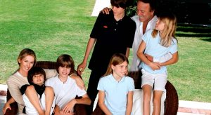 Julio Iglesias e hijos