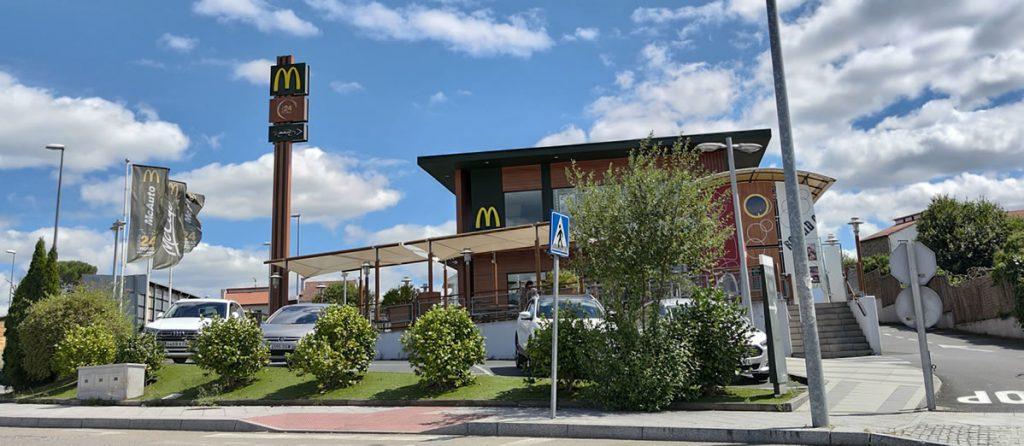 McDonalds en O Fonsillón