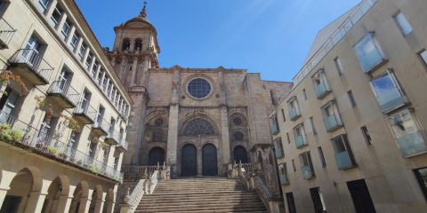 Plaza de San Martiño y Catedral