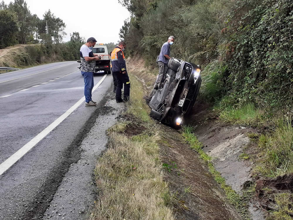Accidente en Barbadás