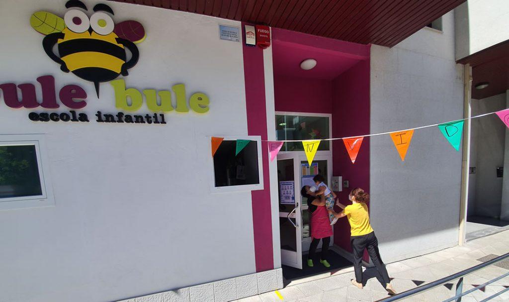 Bule Bule entrada