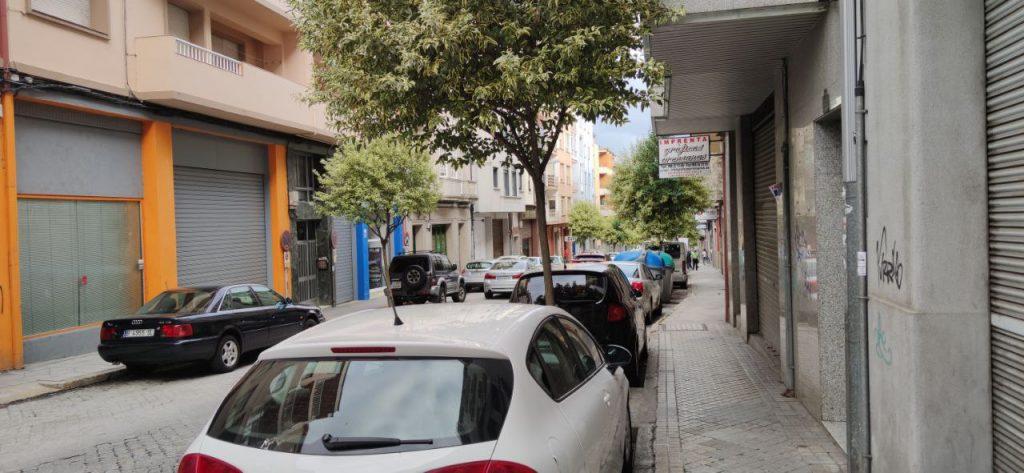 Calle Jesús Soria en el Couto